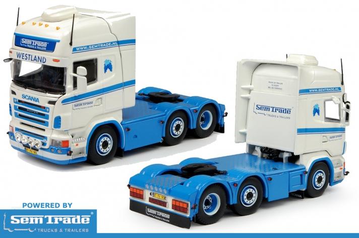 Win! Scania R500 V8 schaalmodel