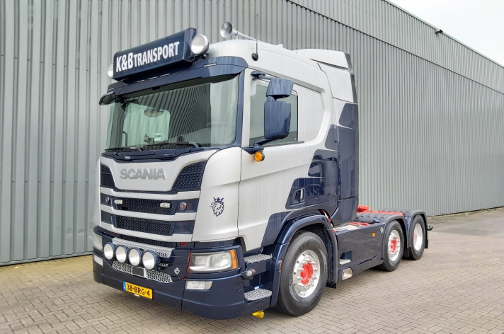 Scania R520 voor K&B Transport bv.