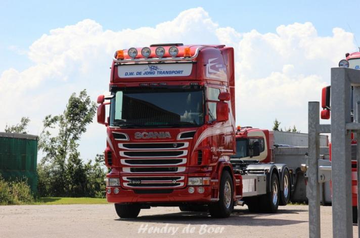 Scania R500 voor D.W. de Jong Transport