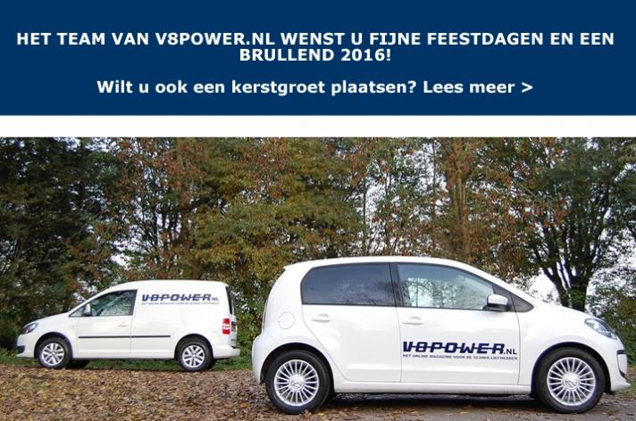 Kerstgroet op V8power.nl