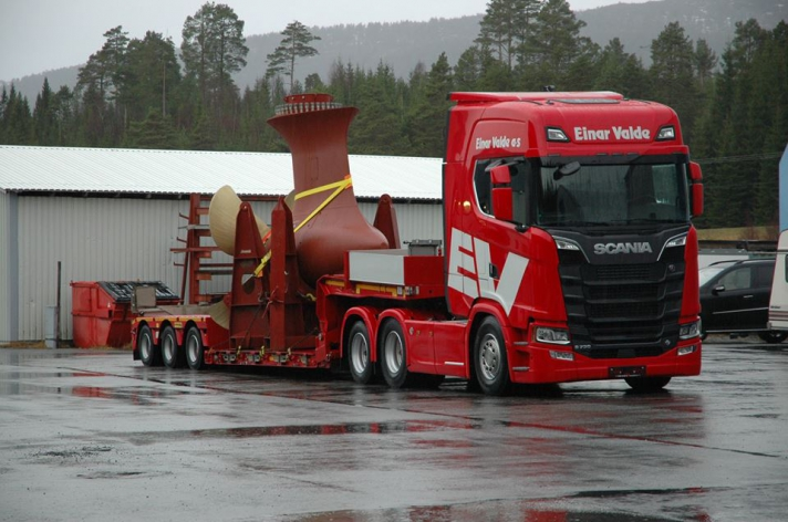 Scania S730 voor Einar Valde AS (NO)