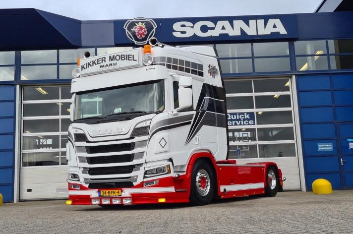 Scania R650 voor Maru Transport