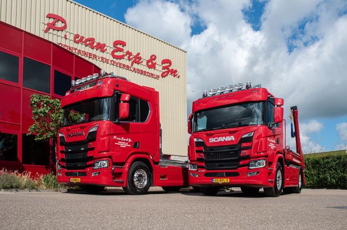 Scania R520 voor P. van Erp & Zn