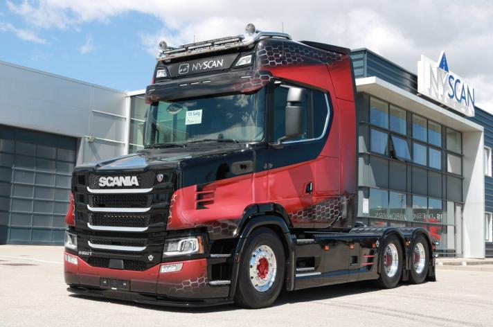Scania NextGen torpedo te koop in Denemarken