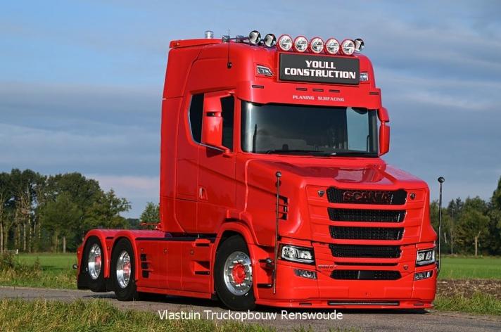 Nieuwe Scania 650ST voor Youll Construction Ltd