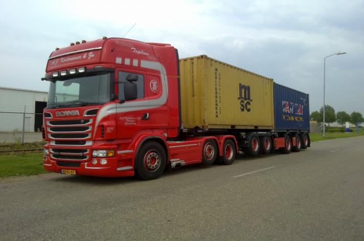 Scania R500 voor A.J. Kortenoever & Zn