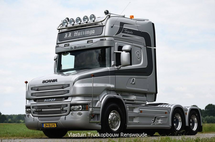 Scania T500 voor Jan Huizinga