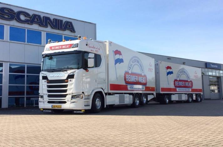 Scania S730 voor Beimer Meat b.v. Enschede