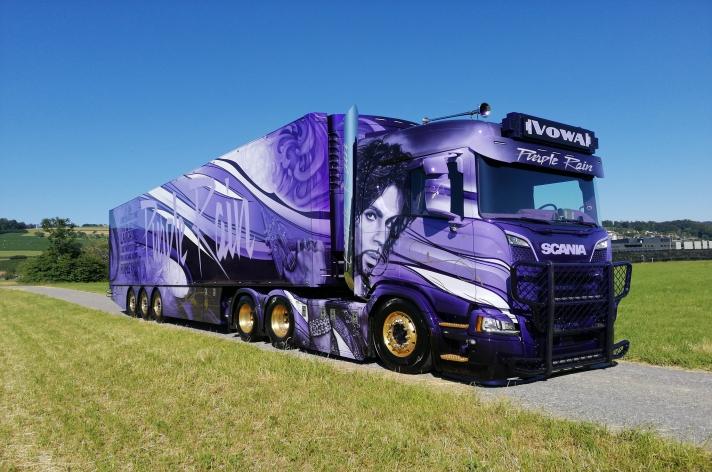 Scania R650 voor VoWa