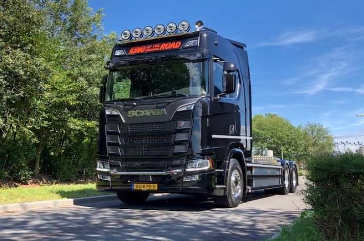 Scania S650 voor Metaalrecycling J. Jager