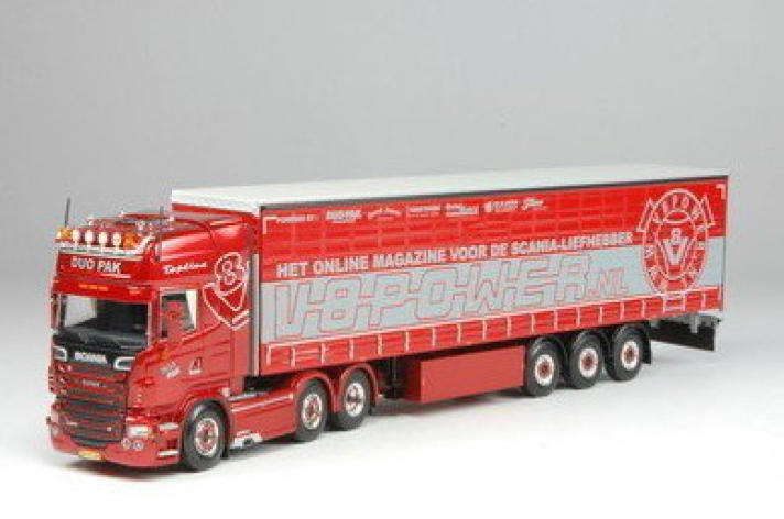 Scania R500 V8power-DuoPak
