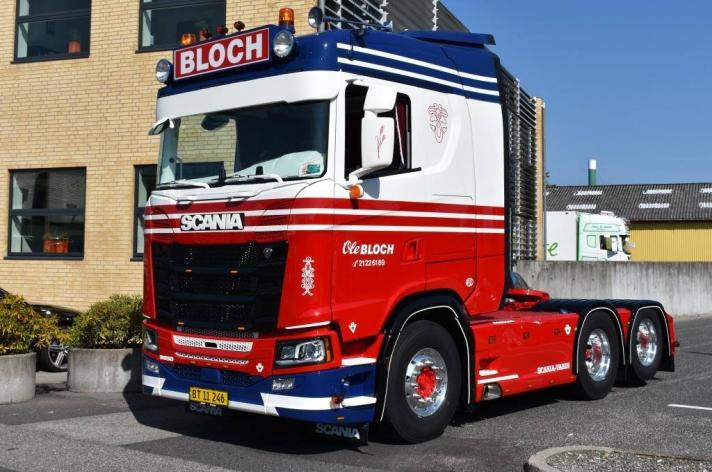 Scania S650 voor Ole Bloch (DK)