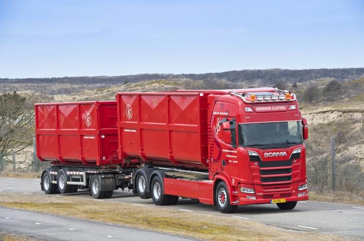 Vier NextGen Scania's voor Heemskerk Slootweg