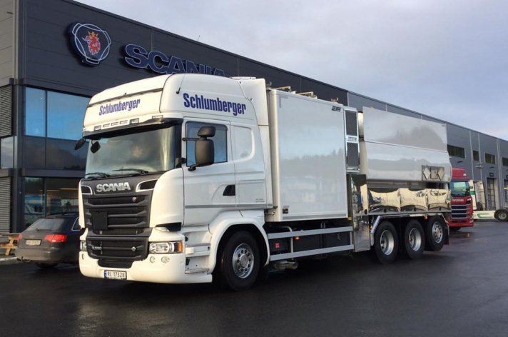 Scania R520 voor Schlumberger (NO)