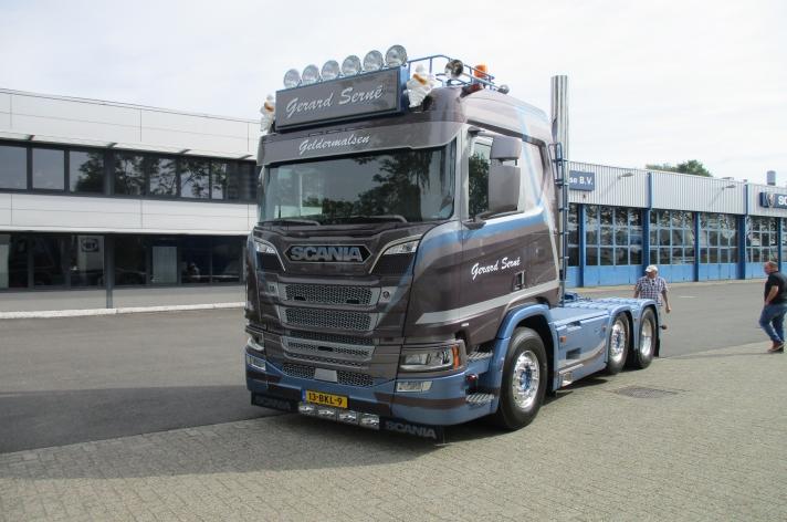 Nieuwe Scania R650 voor Gerard Serné