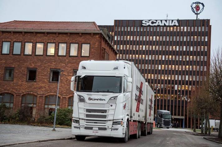 Scania S730 voor Vendelbo Spedition (DK)