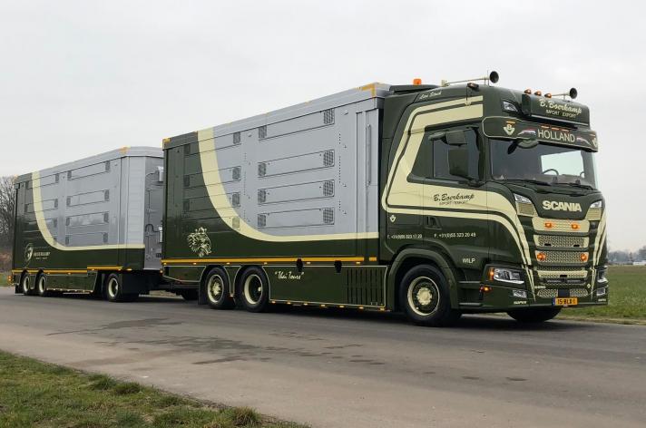 Scania S650 voor B. Boerkamp