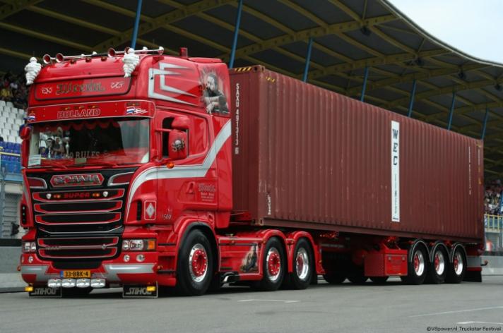 (TF) Weeda winnaar mooiste truckverkiezing