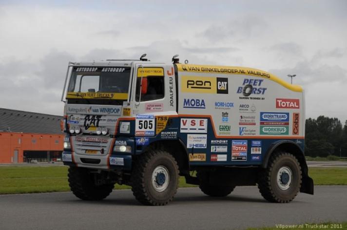 Dakar truck wint decibellencontest