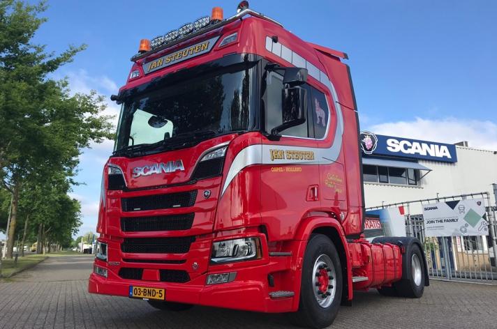 Scania R520 voor Jan Steuten uit Ospel