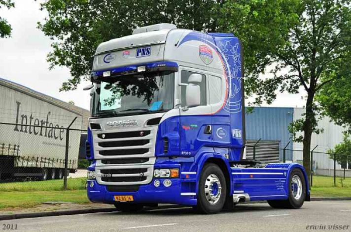 Scania R730 voor PNS Coil Services
