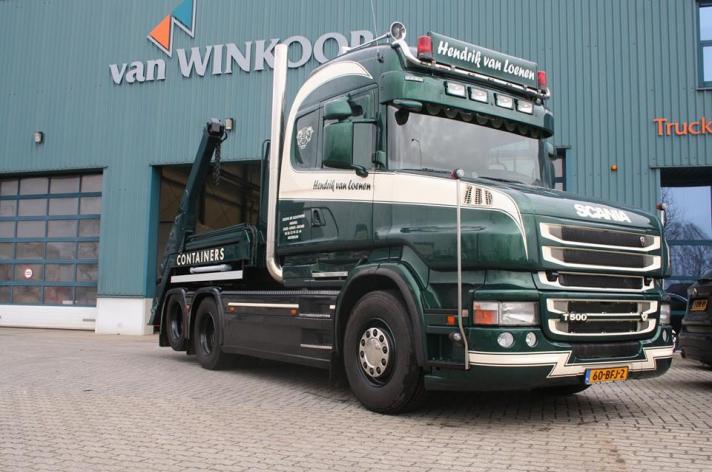 Scania T500 voor Hendrik van Loenen