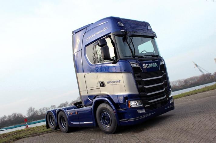 Scania S520 voor Meijndert International bv