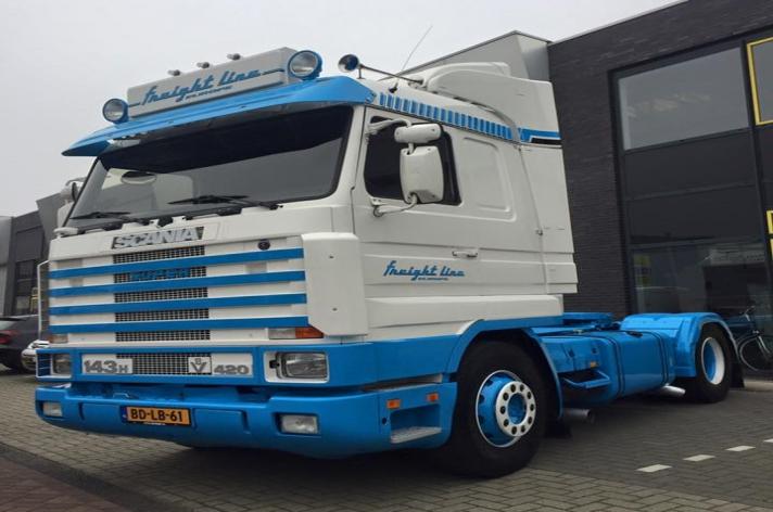 Gebruikte Scania 143 420 voor Freight Line