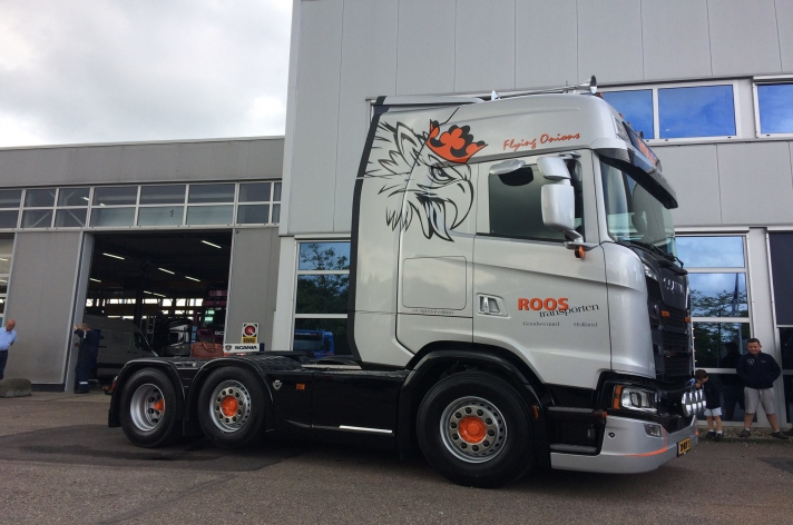 Scania S520 voor Roos Transporten