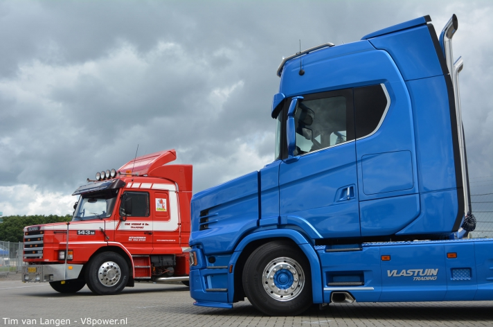 Scania T NextGen op het Truckstar Festival
