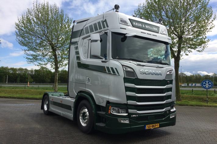 Scania S520 voor Keus en Mollink BV uit Almelo