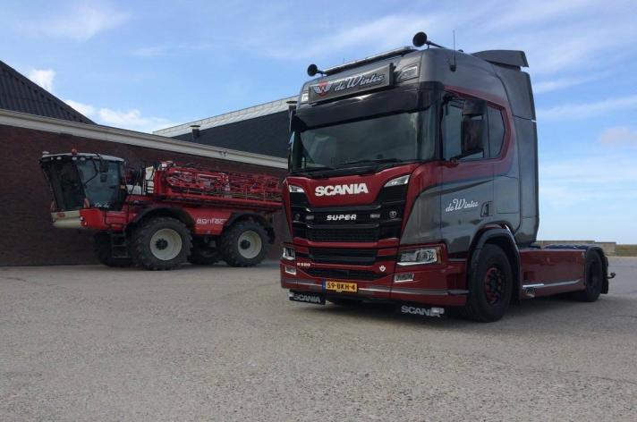 Scania R520 voor Niek de Winter