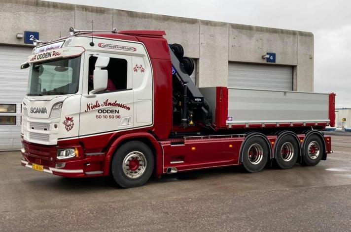 Scania R770 voor Niels Andersson (DK)