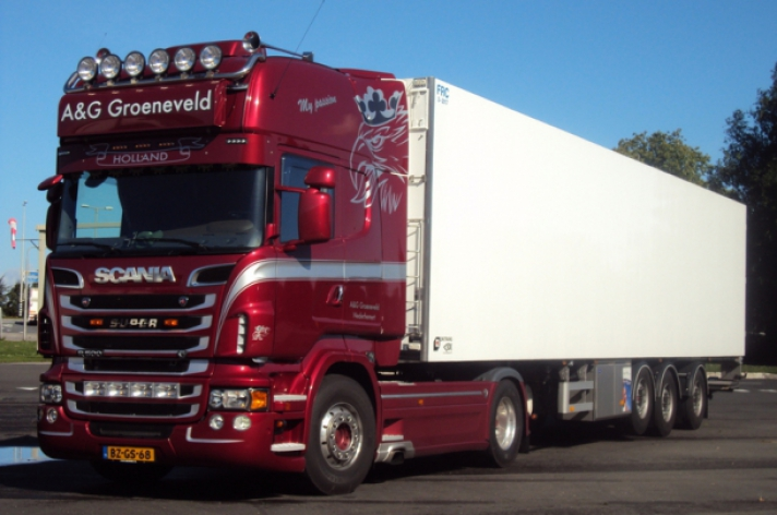 Scania R500 voor A&G Groeneveld