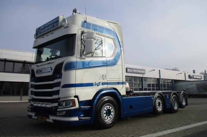 Nieuwe Scania S520 voor Van Wonderen Transport