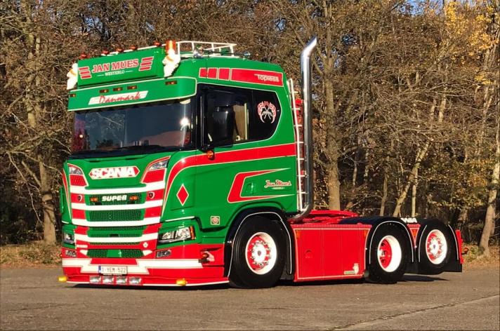 Scania R520 voor Jan Mues (B)