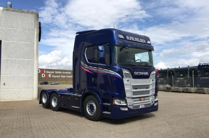 Scania S730 voor Nils Fredrik Nilsen (NO)