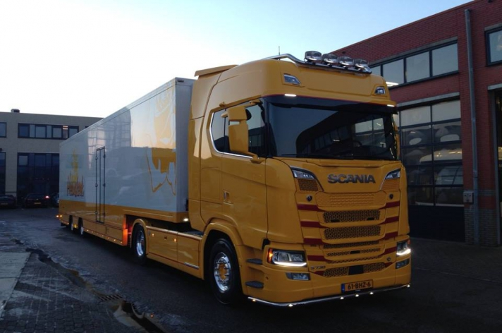 Scania S730 voor Paul Heemskerk