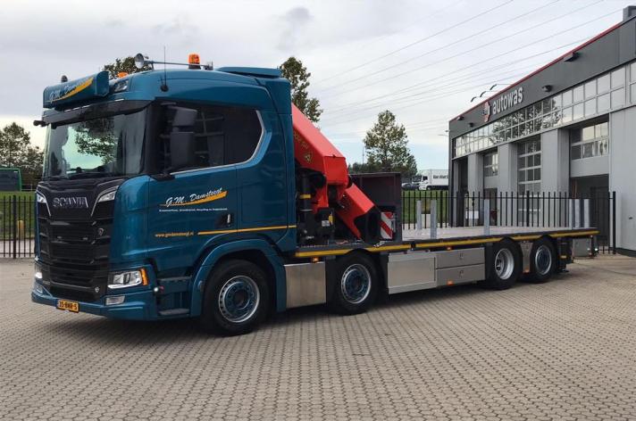 Scania R520 voor G.M. Damsteegt