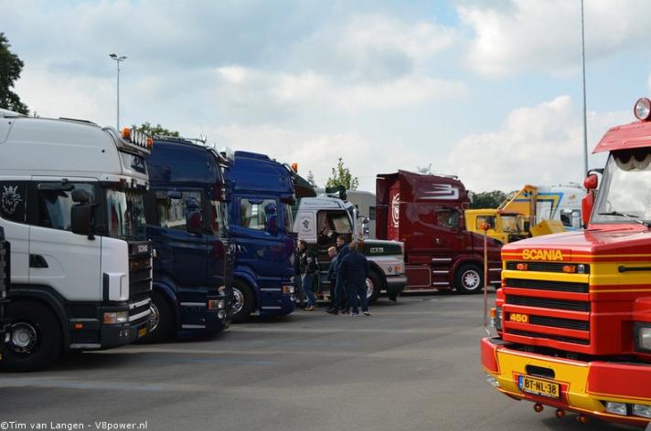 Gerrits Scania V8 Dag Hengelo