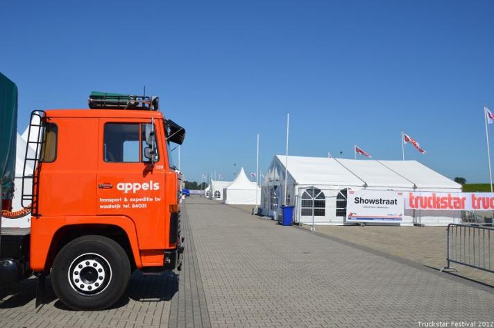 Fotos Truckstar Festival opbouw