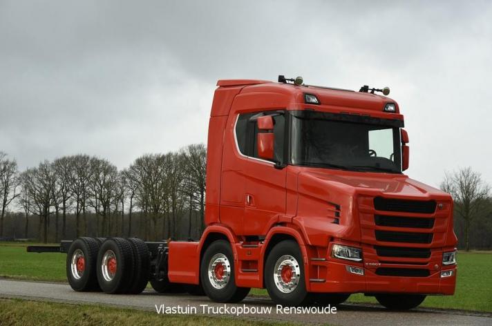Bijzondere S580-T in opbouw voor Vang Auto-Service AS