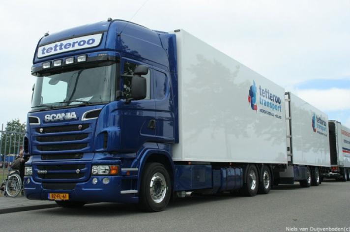 Scania R560 combi voor Tetteroo