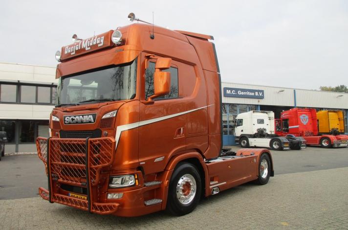 Scania S520 voor Danjel Middag