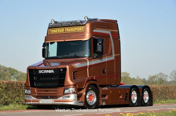 Nieuwe Scania S730T voor Tunerud (NO)