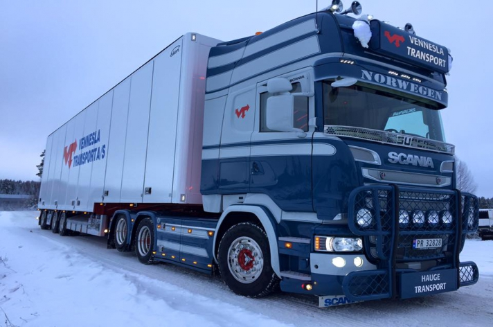Blikvanger: Scania Hauge Transport