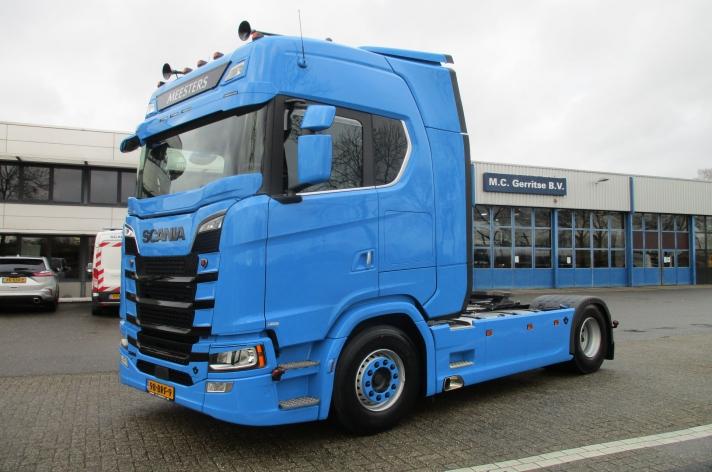 Scania 520S voor Meesters
