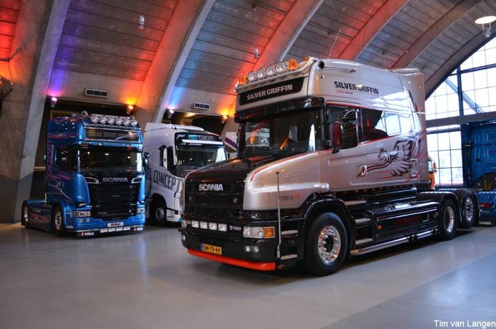 V8power op het Mega Trucks Festival