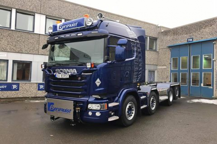 Scania R730 voor Bergquist (NO)