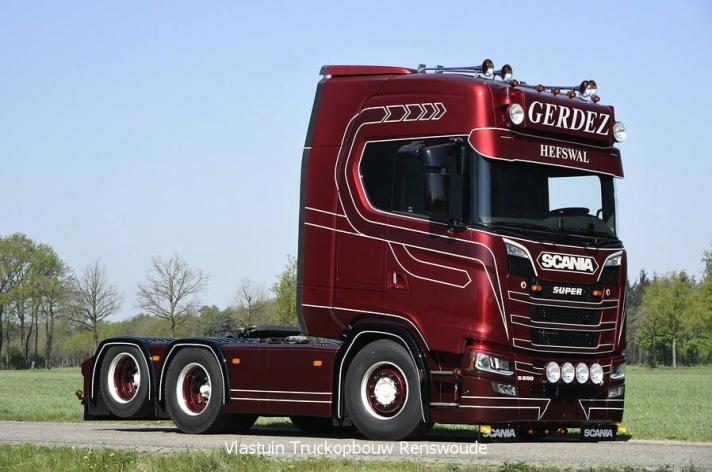 Scania S650 voor Freddy Gerdez